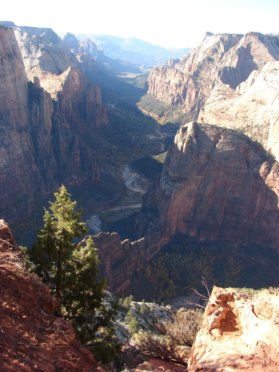 Observation Point at Zion.