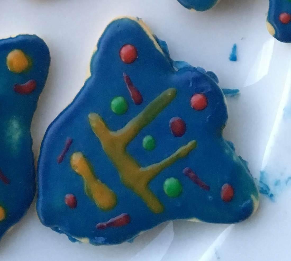 Bodhi Day Christmas Cookie, Bodhisattva of Fragmentation